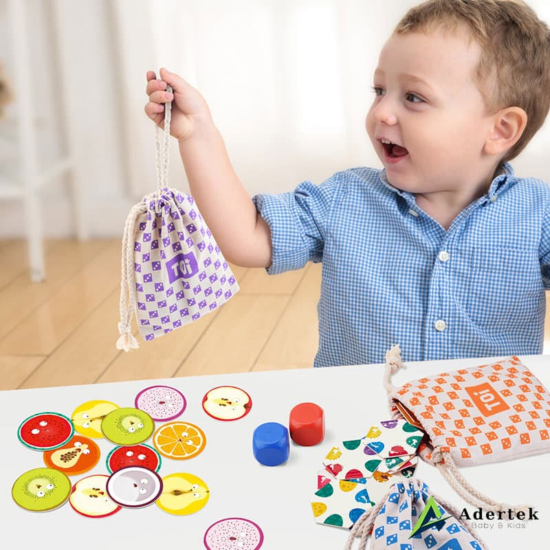 TOI Game To Go comes with different colours drawstring bag for each game for easy storage