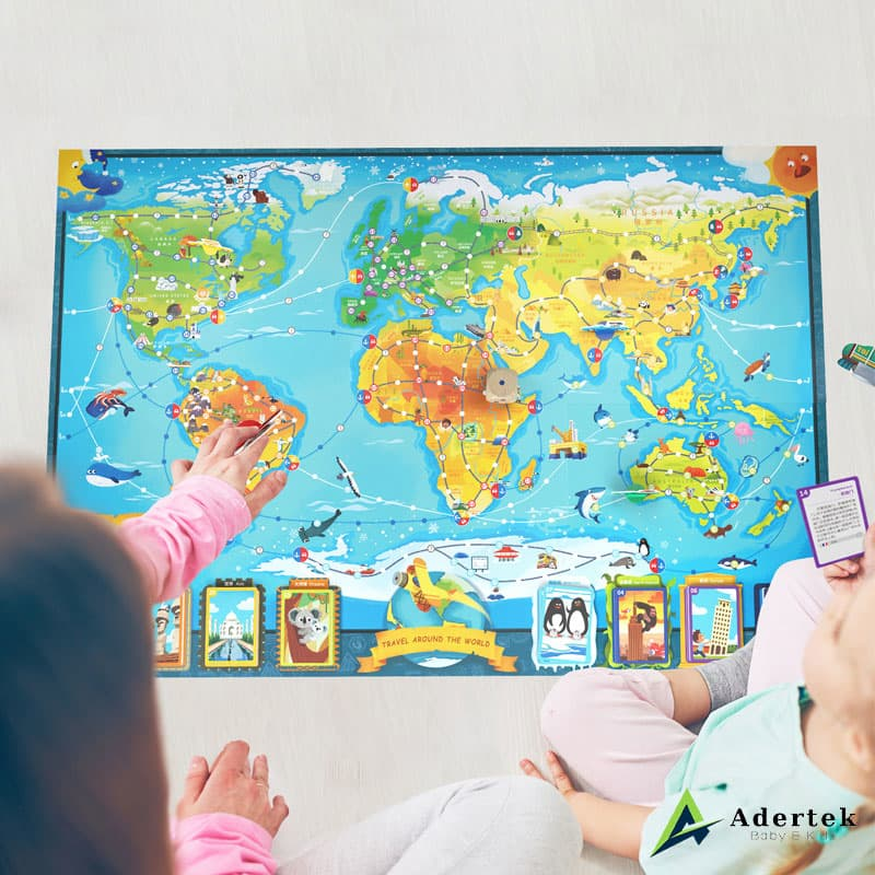 Travel Around The World For Little Geography Enthusiast
