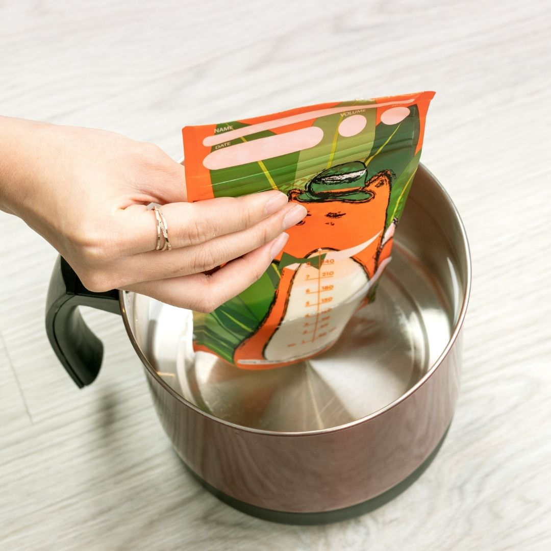 MisterFox Milk Storage Bag Thaw It In Warm Water