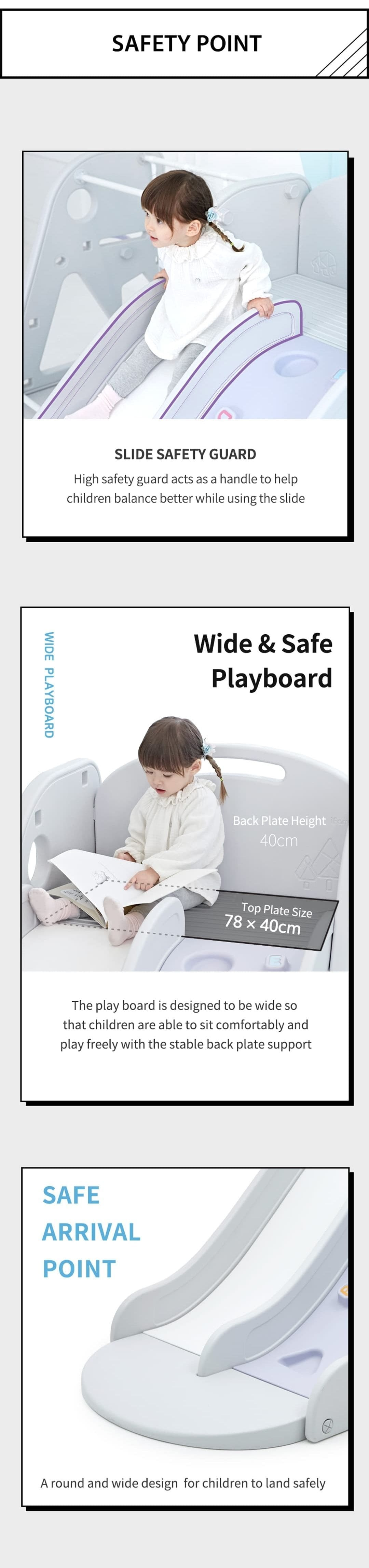 rock climbing slide safety features