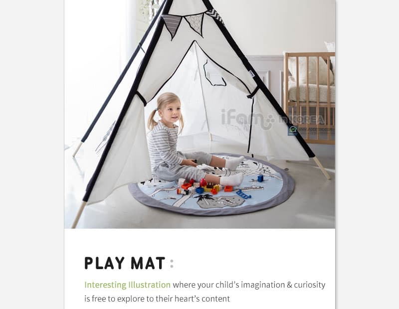 Playmat that fits perfectly with IFAM Luna Tent