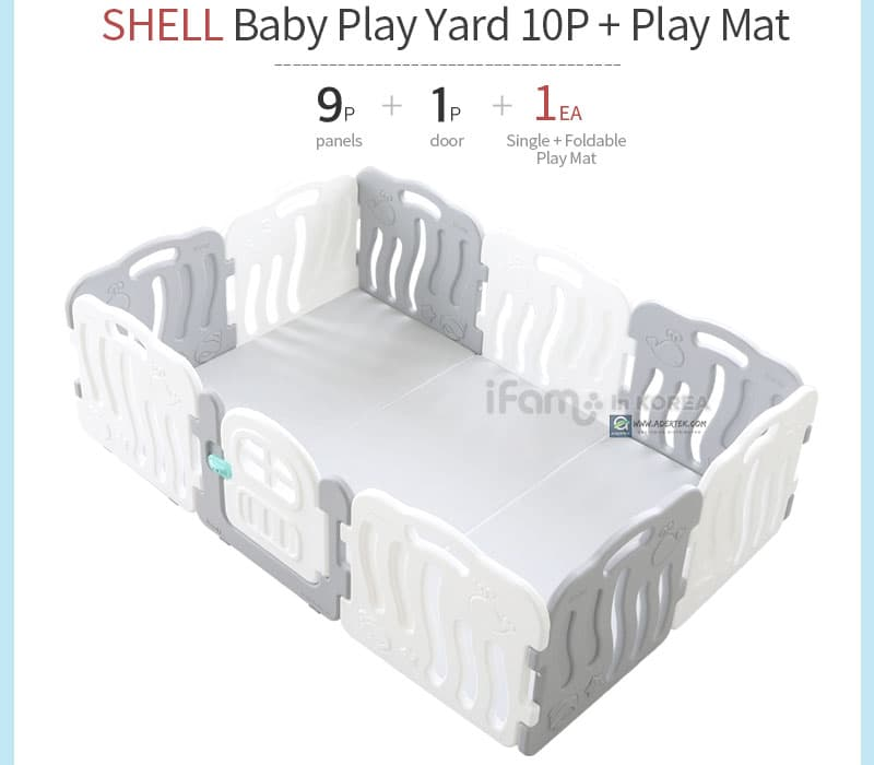 Shell 10pcs + Play Mat Configuration