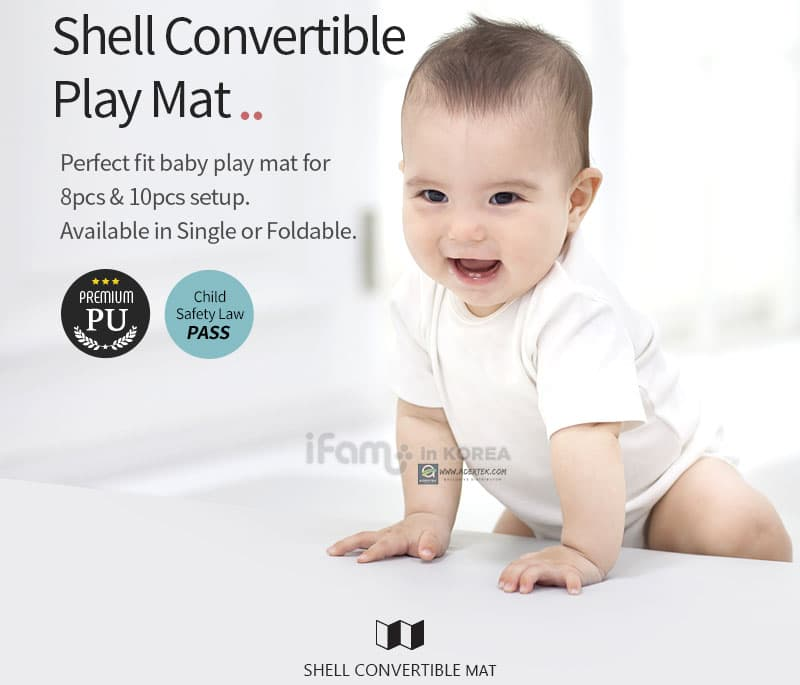 IFAM Shell Convertible Baby Play Mat (2 sizes)