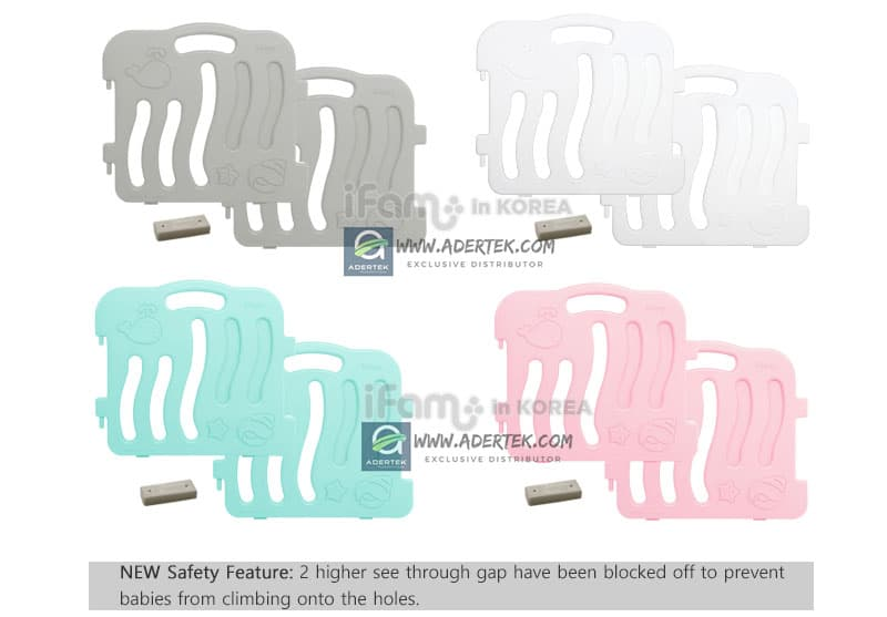 Shell Baby Play Yard Safety Feature