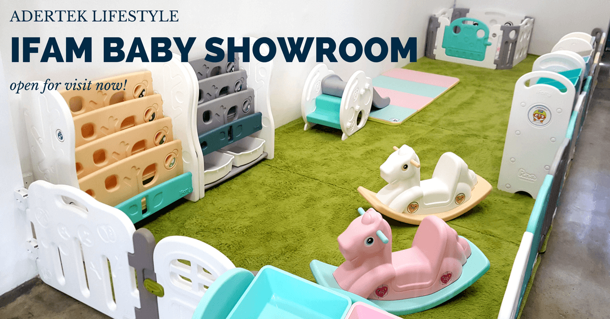 Adertek Lifestyle IFAM Baby Showroom is open now!