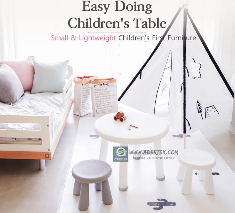 Perfect table and stools for all children and homes