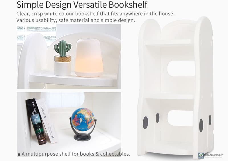 Versatile Bookshelf for display of your books and/or collector's item