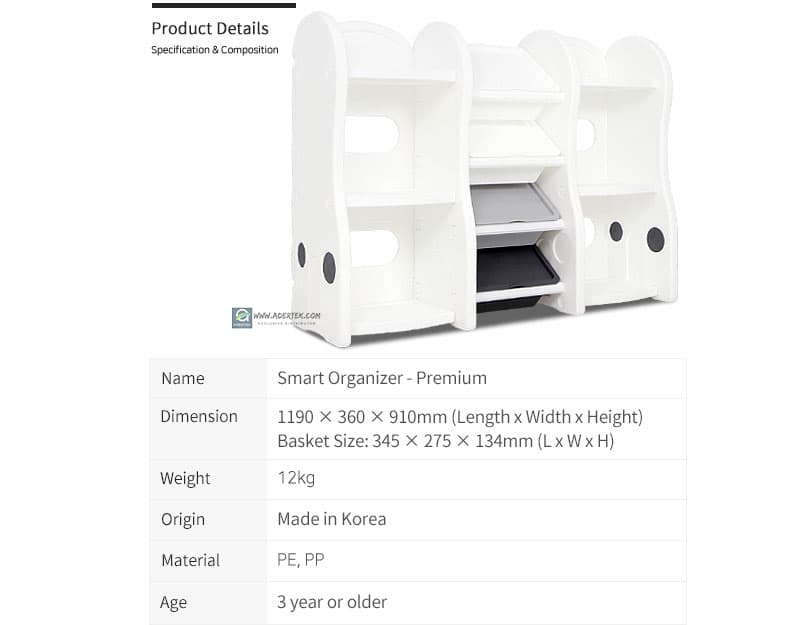 Details of Smart Compact Storage Organizer (Premium)