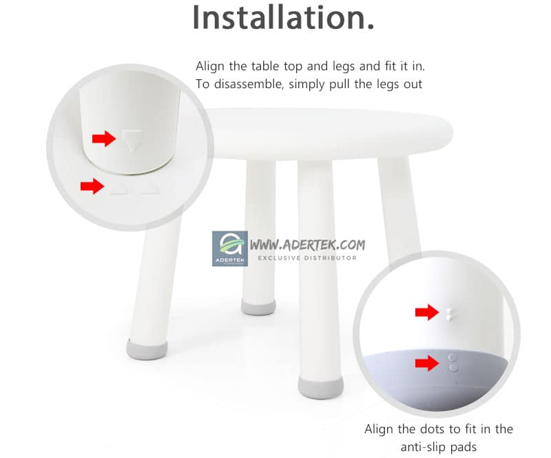 IFAM Table installation guide