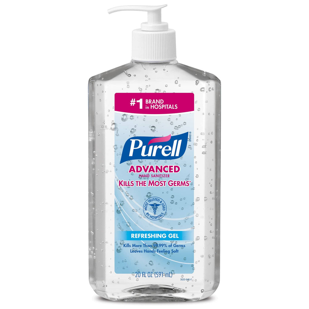 PURELL® ADVANCED Hand Sanitizer REFRESHING Gel (20 fl oz)