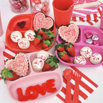 Re-Play Divided Plate Valentine Set Lifestyle