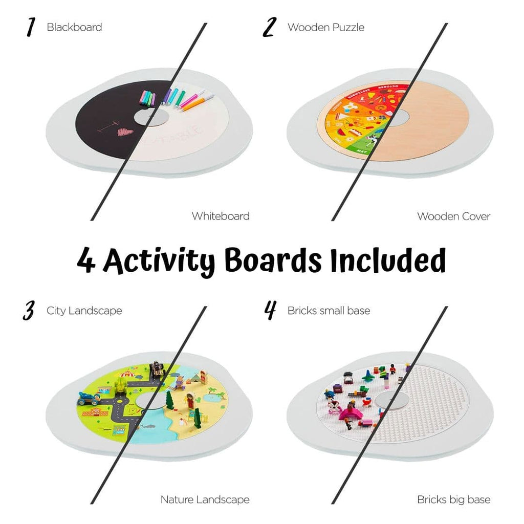 MUtable 4 double sided activity board