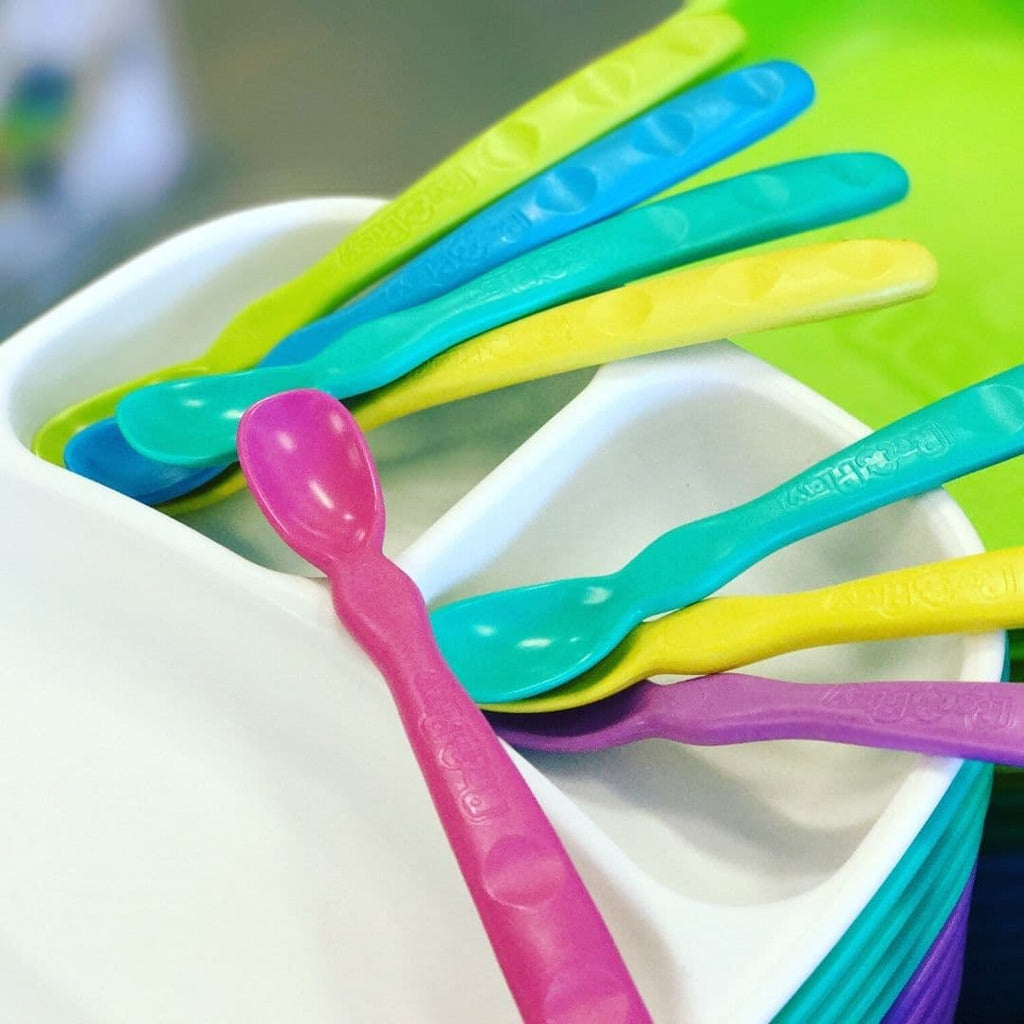 Re-Play Colourful Infant Spoons