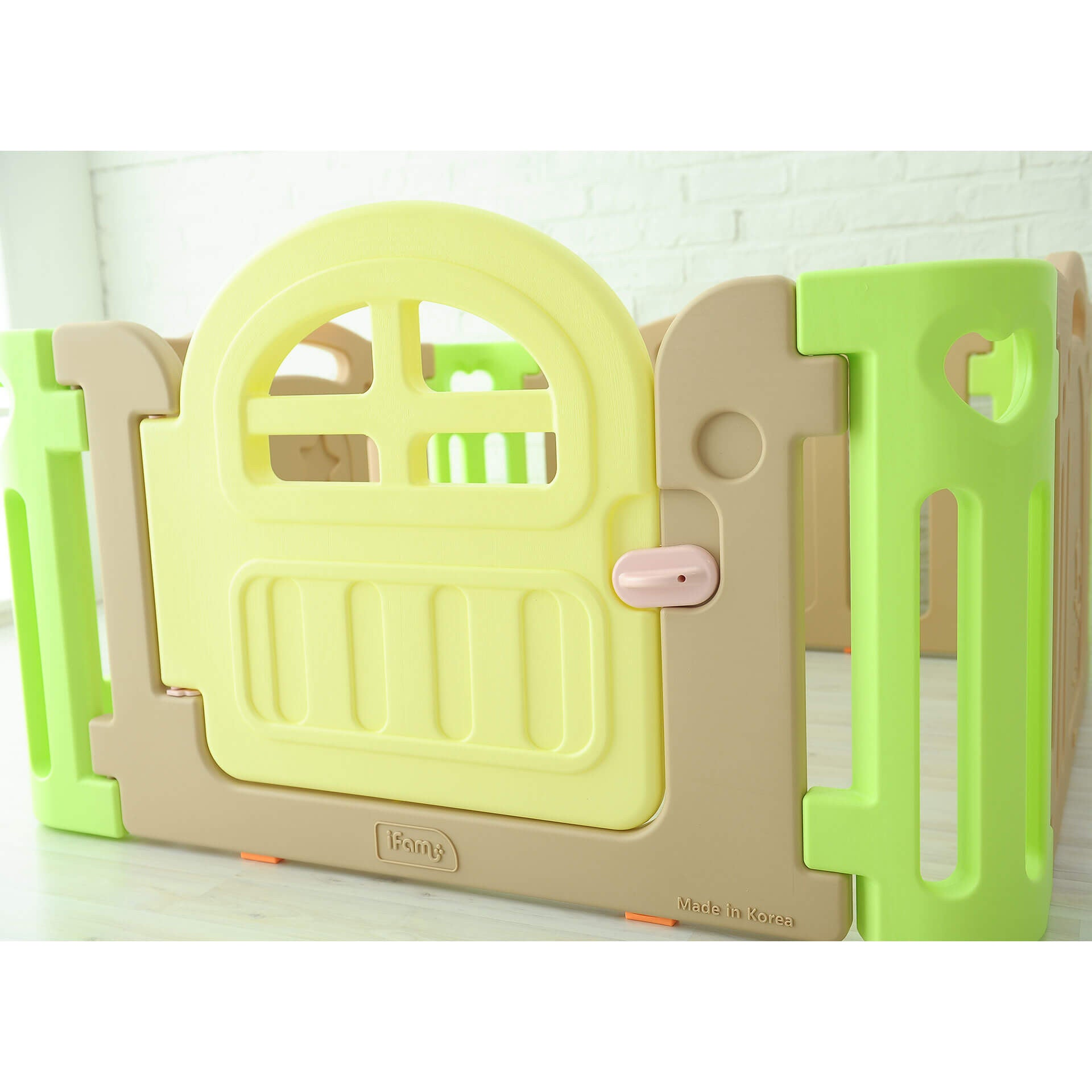 (Pre-Order) Marshmallow Baby Play Yard - Regular (mats sold separately) - IFAM (Made in South Korea) - Adertek Lifestyle