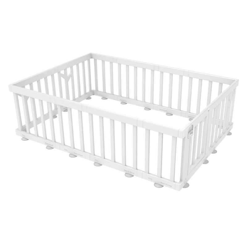 Birch Baby Play Yard White 207 x 147cm