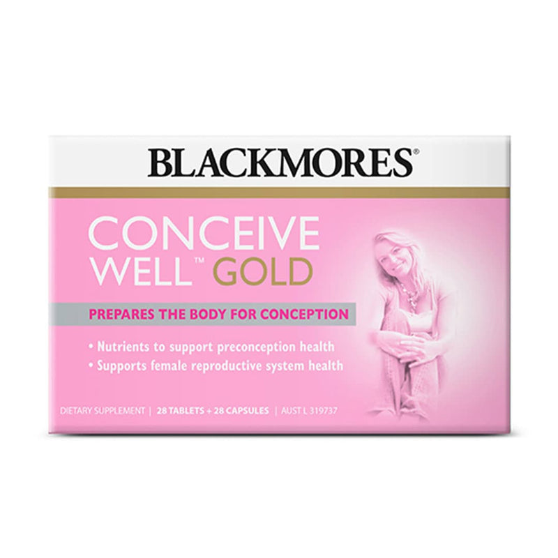 Blackmores Conceive Well Gold (28 Caps + 28 Tabs)