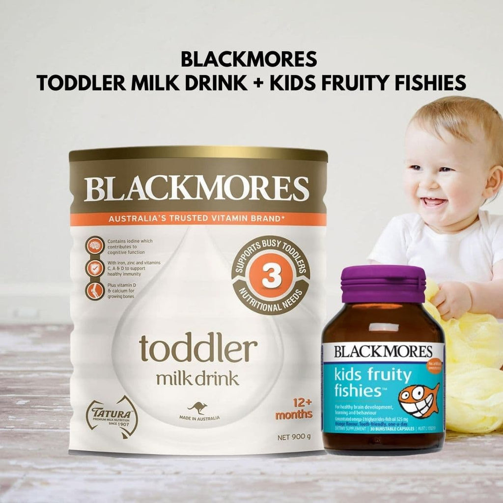 Blackmores Toddler Milk Drink + Fruity Fishies™