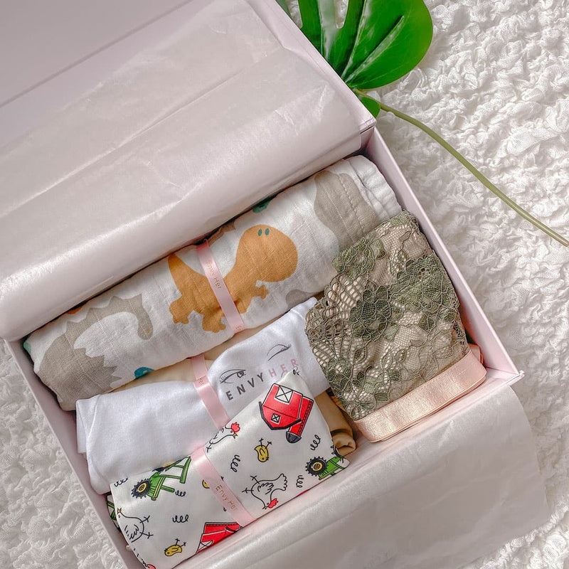 Envy Her Maternity Bralette Gift Box Content