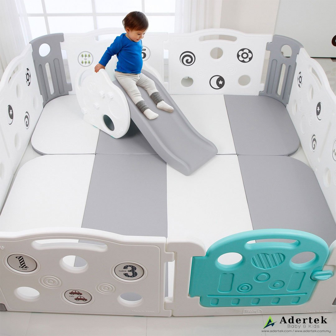 Deluxe Learning Baby Play Mat (Foldable) - IFAM (Made in South Korea) - Adertek Lifestyle