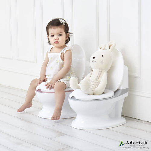 Easy Toddler Potty Training in Grey or Pink
