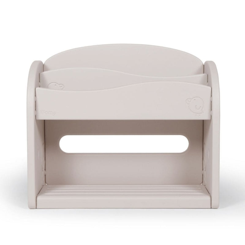 Easy Wave Bookshelf Beige Front