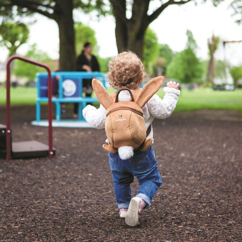 LittleLife Animal Toddler Backpack Bunny Lifestyle