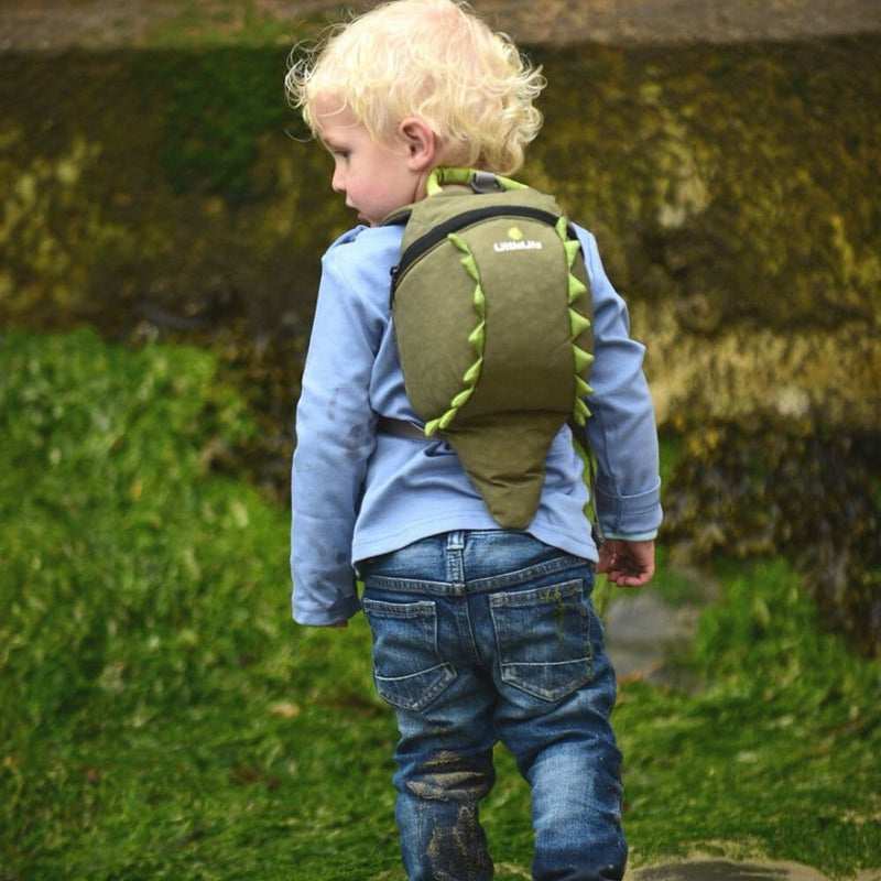 LittleLife Animal Toddler Backpack Crocodile Lifestyle