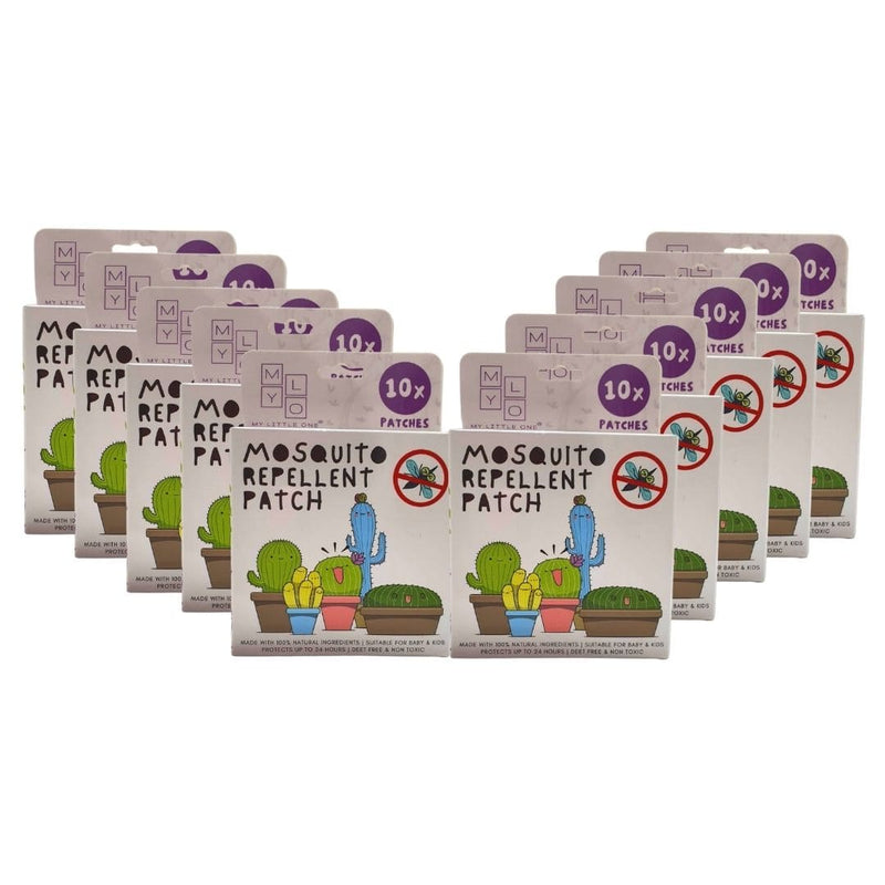 MyLO Mosquito Repellent Patch - 10 Boxes