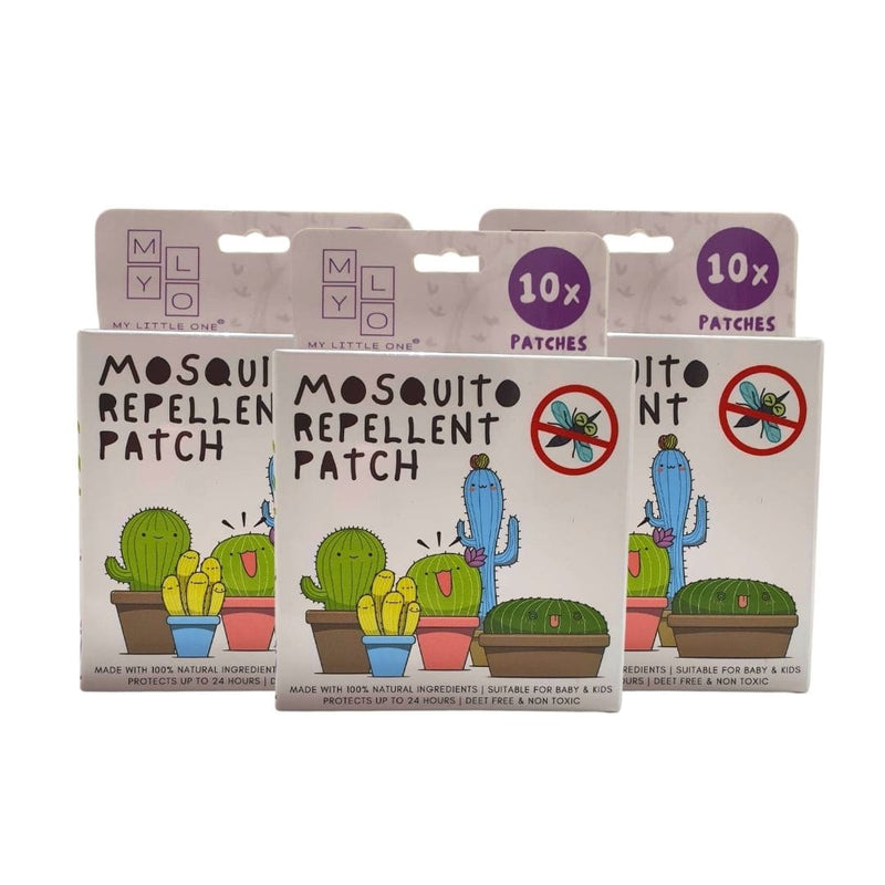 MyLO Mosquito Repellent Patch - 3 Boxes