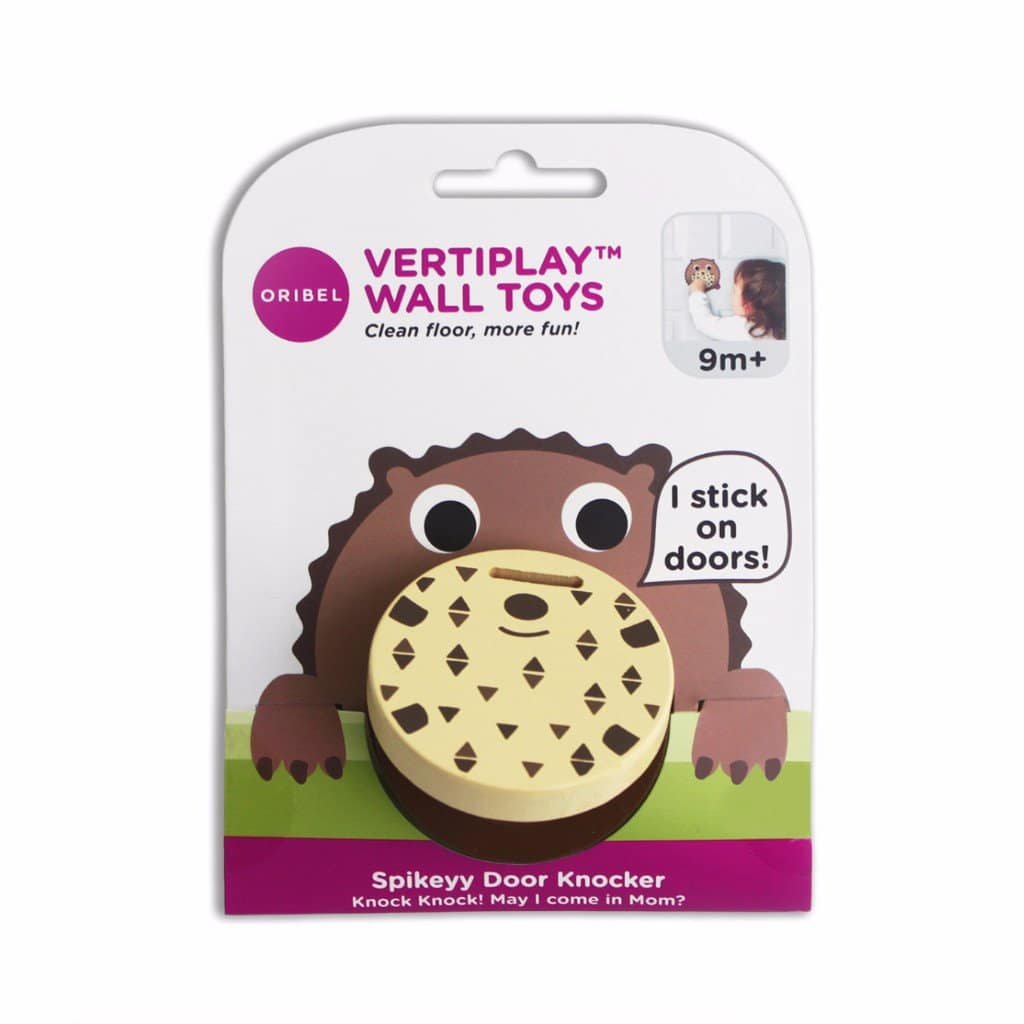 VertiPlay™ Door Knocker - Spikeyy packaging