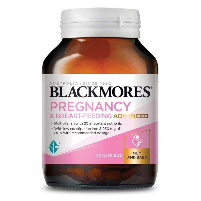 Blackmores Pregnancy Advanced (60 Caps)