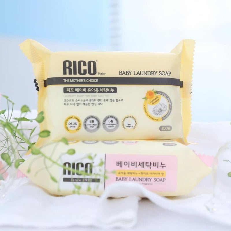 RICO Laundry Bar Soap for Baby and Kids