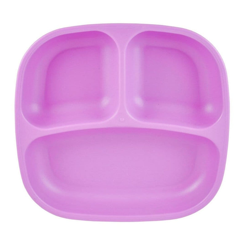 Re-Play Divided Plate Purple