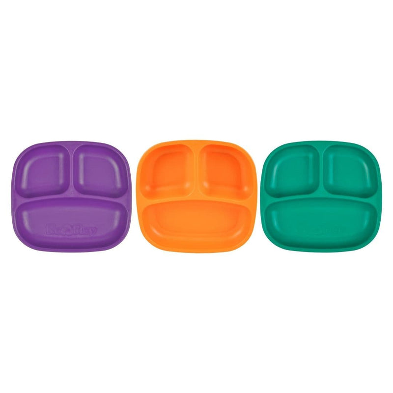 Re-Play Divided Plates (Set of 3) Royale