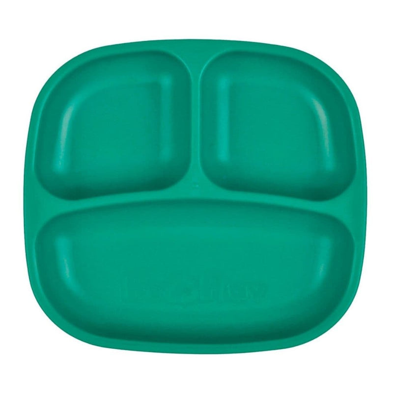 Re-Play Divided Plate Teal