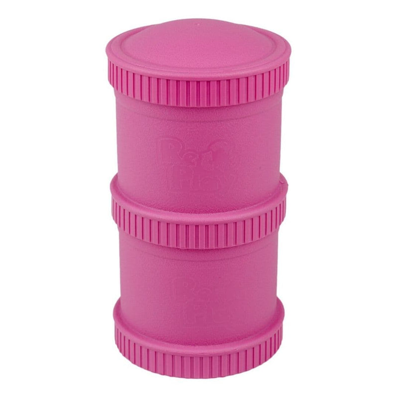 Re-Play Snack Stack Bright Pink