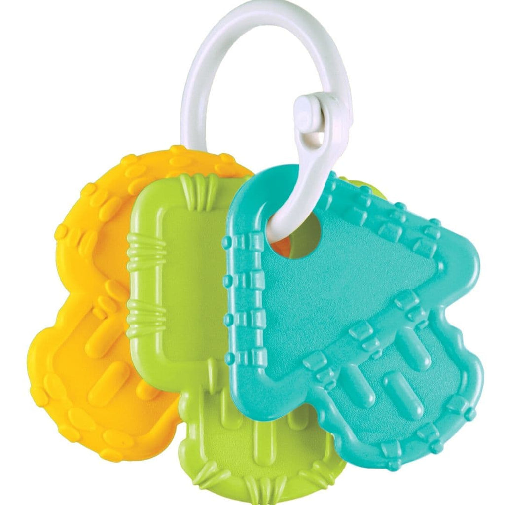 Re-Play Teething Keys Aqua