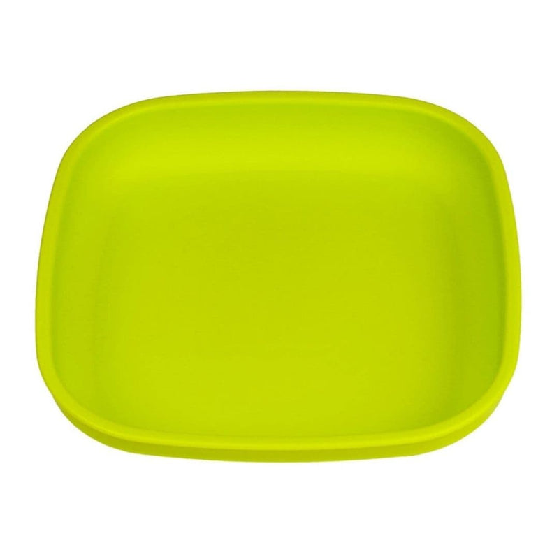 Re-Play Flat Plate Lime Green