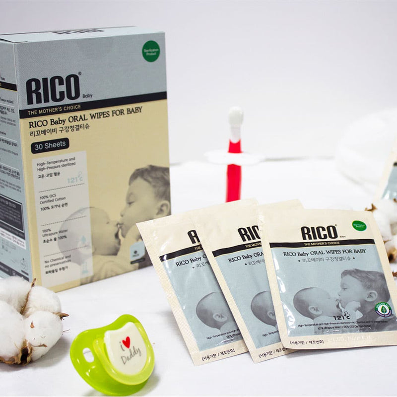 Rico Baby Oral Wipes Lifestyle