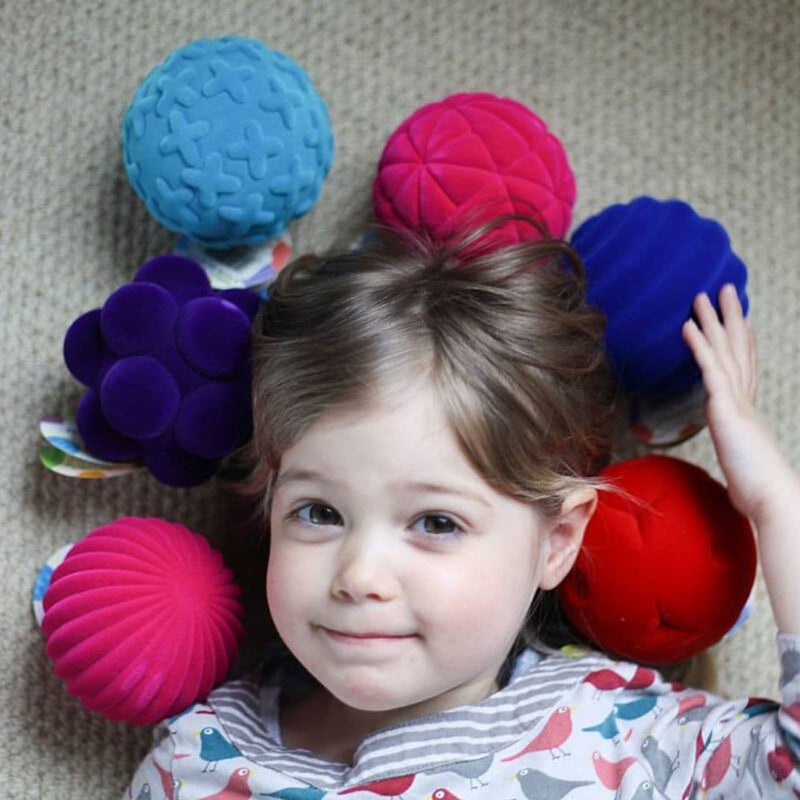 Rubbabu Bouncy Balls enjoyed by children with sensory needs