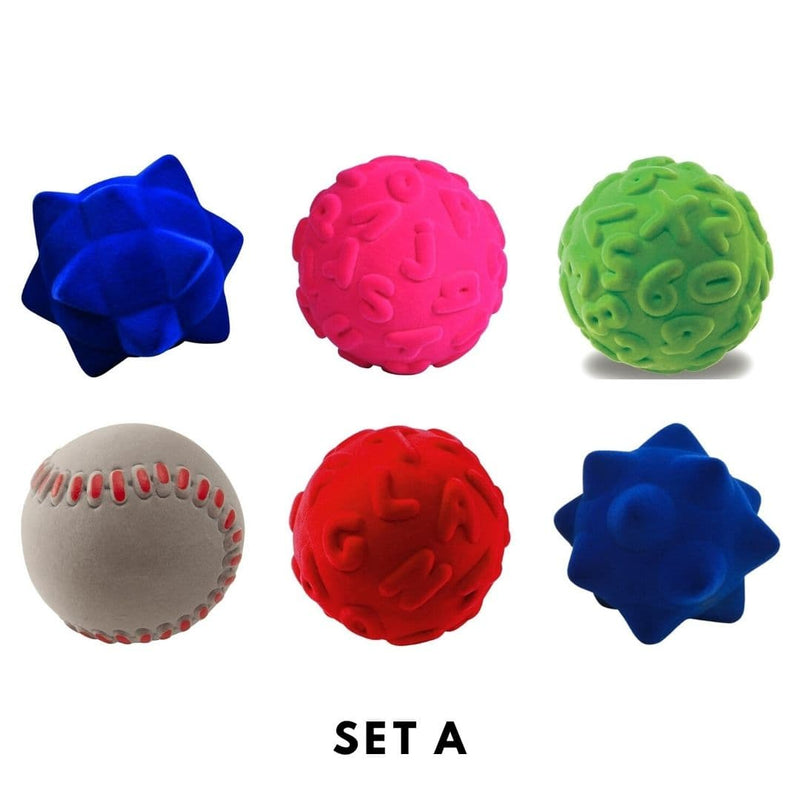 Rubbabu Bouncy Balls Set (6 balls) Set A