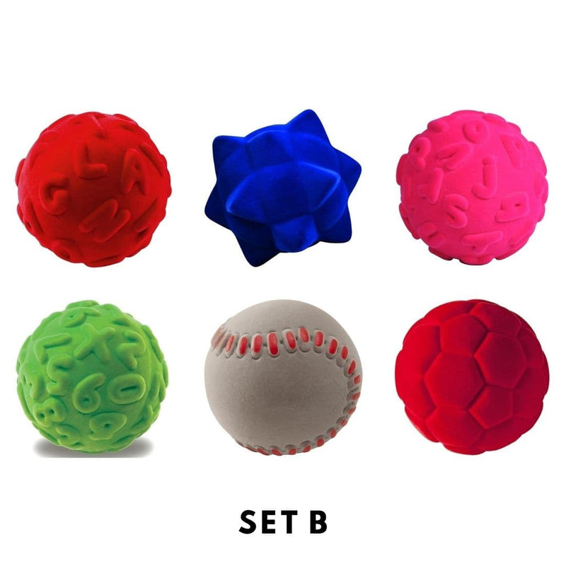 Rubbabu Bouncy Balls Set (6 balls) Set B