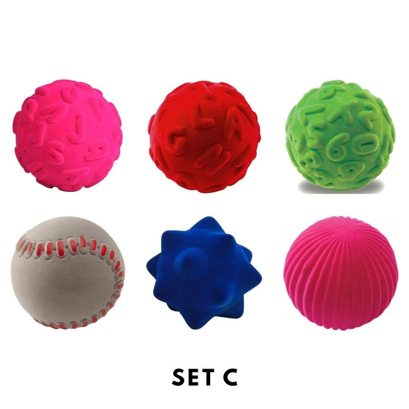 Rubbabu Bouncy Balls Set (6 balls) Set C
