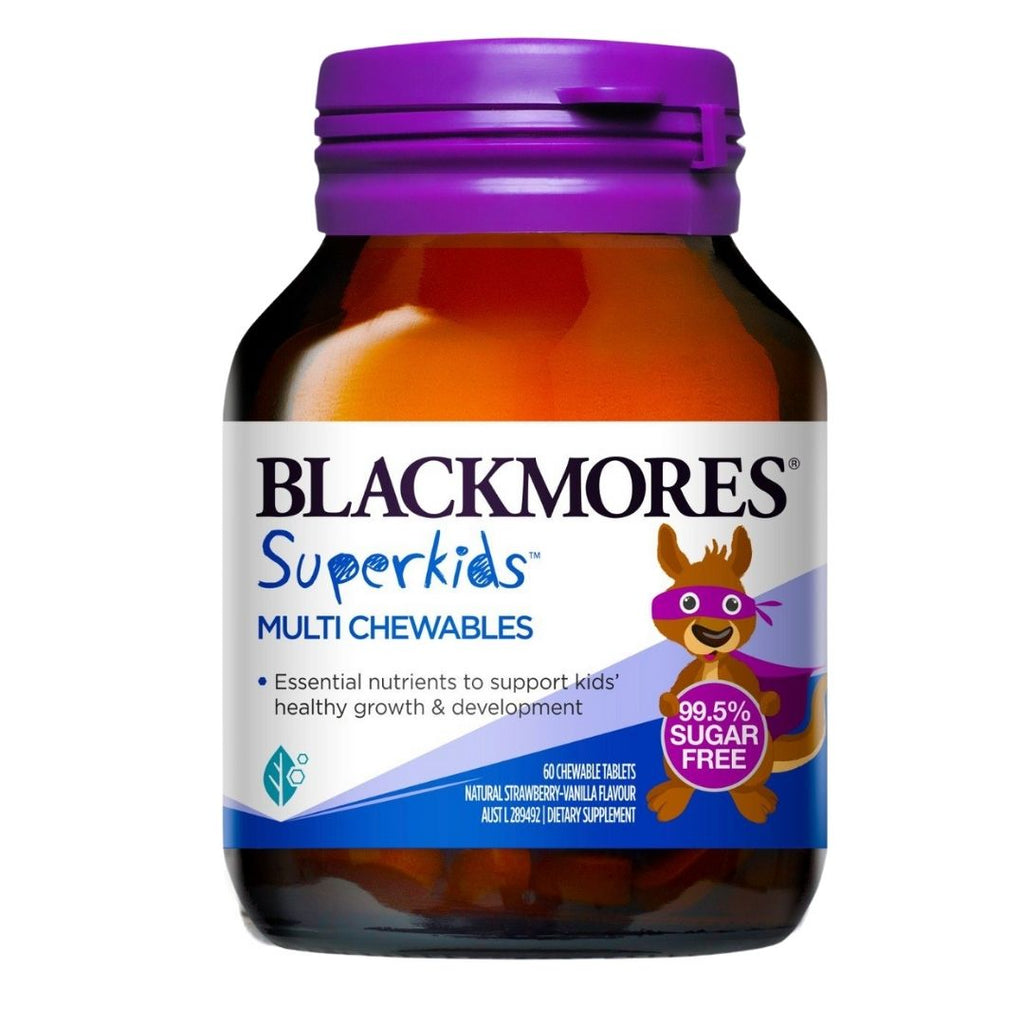 Blackmores Super Kids Multi Chewables (60 Tabs)