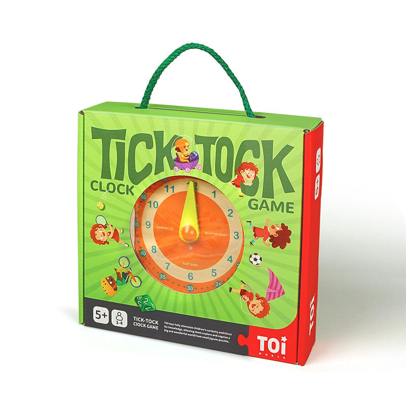 Tick-tock Clock Board Game For Kids