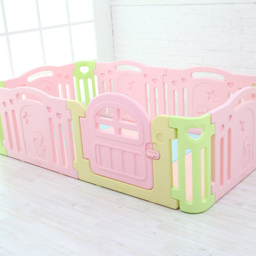 Marshmallow Baby Play Yard Regular Size - Pink (mats Not Included)