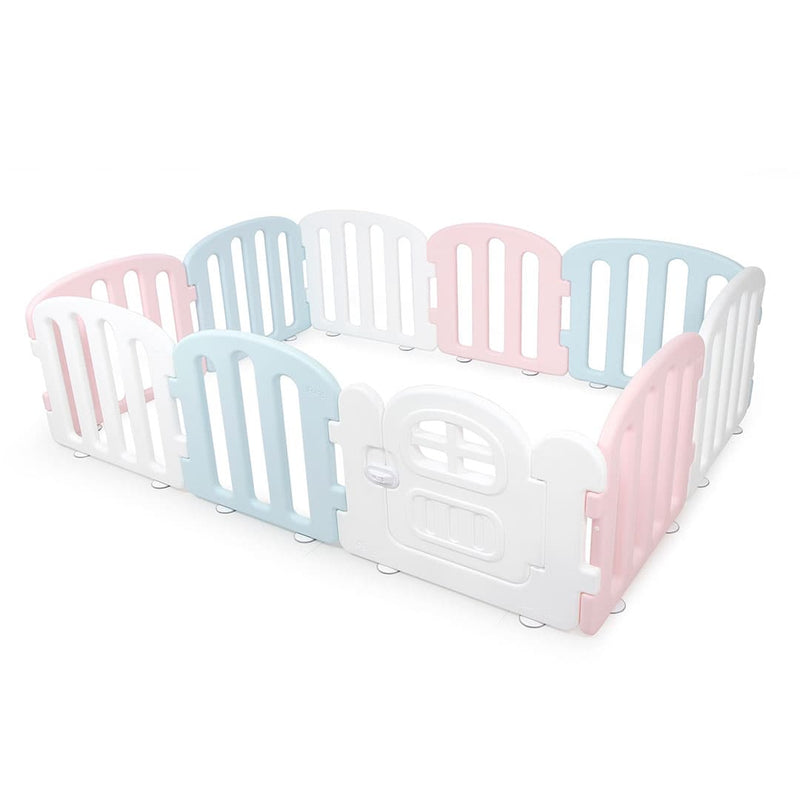 Baby FIRST Play Yard with Door Set (10pcs 207x147cm) - MultiColour