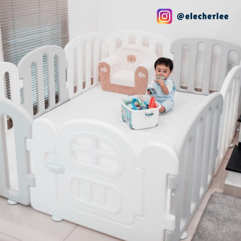 elecher x ifam baby first play yard