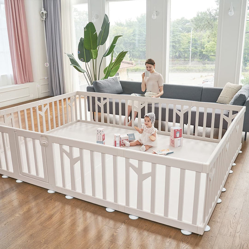 birch baby play yard classic and modern design