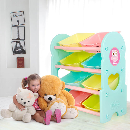 (Pre-Order) Briring 4-Shelves Toy Organizer - IFAM (Made in South Korea) - Adertek Lifestyle